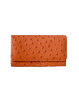 OSTRICH LEATHER PURSE