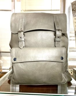 leather bovine backpack